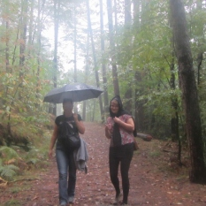 Hiking in the Rain