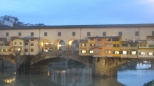 Ponte Vecchio by Evening