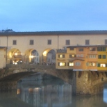 Ponte Vecchio by Evening