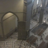 Looking Down from the Cupula