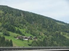 Along the Hillside