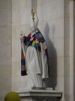 Bishop Keeping Warm