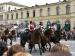Oktoberfest Parade on Odeonsplatz_2