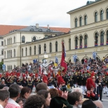 Oktoberfest Parade on Odeonsplatz_4