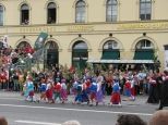 Oktoberfest Parade on Odeonsplatz_5