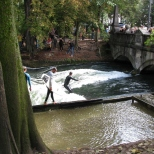Surfing in Munich!!!!