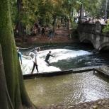 Surfing in Munich!!!!