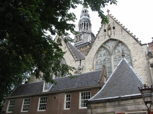 Church outside Red Light District