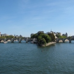 Looking back at Pont Neuf