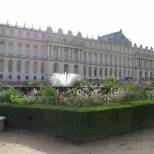 Looking back from North Parterre