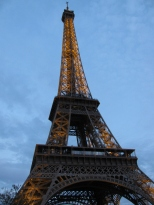Eiffel Tower by Evening