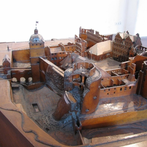 Wooden Model of Castle