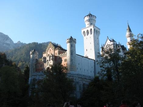 Castle from Lower Platform