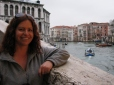 On the Rialto Bridge over the Grand Canal