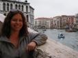 On the Rialto Bridge over the Grand Canal