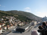 Arriving in Dubrovnik