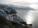 Oia and the Sea