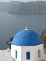 Oia Church and the Sea