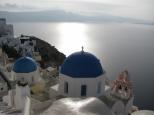 Oia Church and the Sea_2
