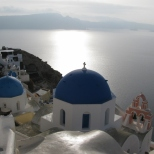 Oia Church and the Sea_2