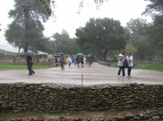 Rain Pouring on Ruins & People_2