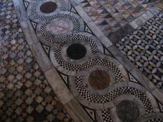 Floor inside Church