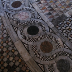 Floor inside Church