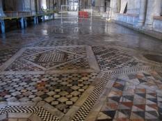 Warped Mosaic Floor