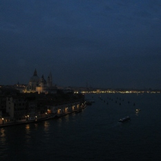 Leaving Venice at Night