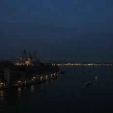 Leaving Venice at Night