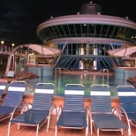 On deck Outdoor Pool