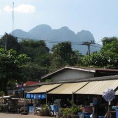 Sangkhlaburi in Town