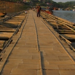 Walking the Bamboo Bridge
