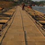 Walking the Bamboo Bridge
