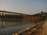 Mon Bridge from Bamboo