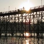 Mon Bridge Sunset