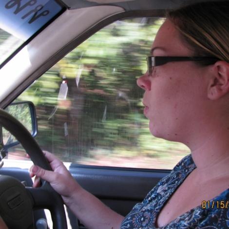 Jo Driving