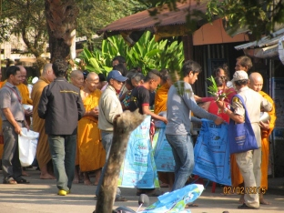 Monks Receiving Alms_3