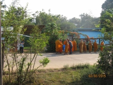 Monks Receiving Alms_5