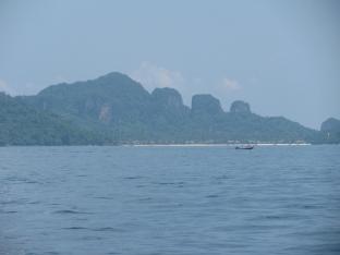 Approaching Phi Phi