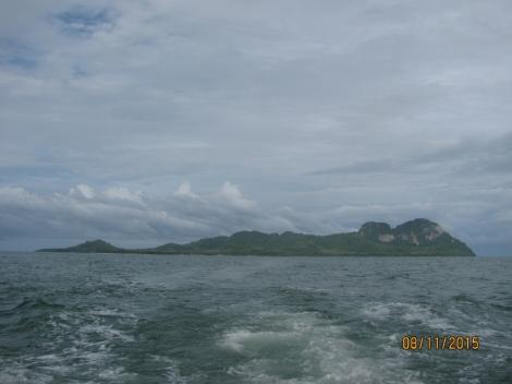 Ko Muk From Sea