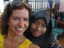 Amirah and I