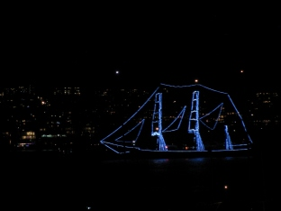 New Years Sailboat