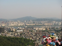 City Views from N. Seoul Tower