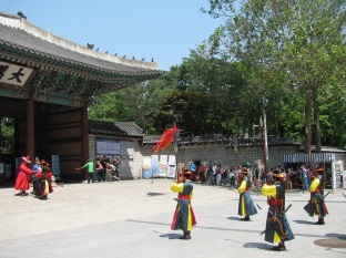 Guards at Deoksugung Palace