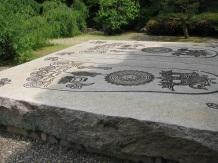 Buddha's Footprint Stone